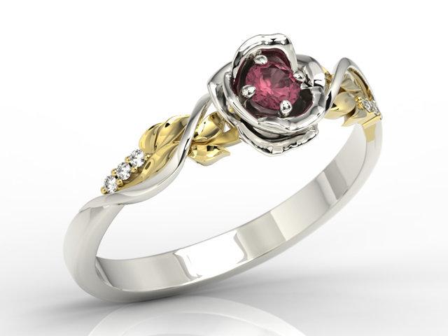 biżuteria z rubinami