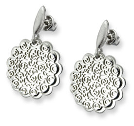 Silver earrings WEC-S-WZ3-KOL