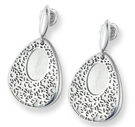 Silver earrings WEC-S-WZ5-KOL