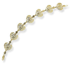 14ct yellow gold bracelet LPBr-31Z-R
