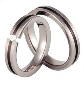 Titanium wedding ring SWT-1/4