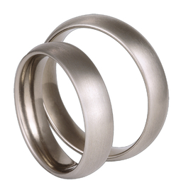 Titanium wedding ring SWT-17/5-k