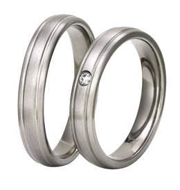 Titanium wedding ring SWT-2/4