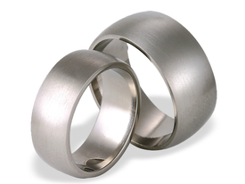 Titanium wedding ring SWT-20/8-k