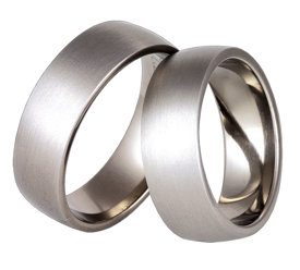 Titanium wedding ring SWT-25/7-k