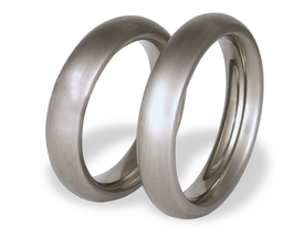 Titanium wedding ring SWT-36/5-m