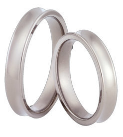 Titanium wedding ring SWT-66/4-k