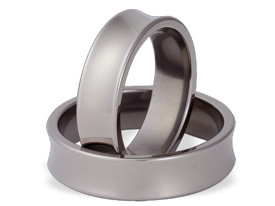 Titanium wedding ring SWT-67/6-k