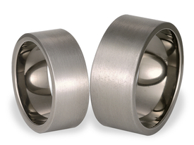 Titanium wedding rings SWT-14/10-m