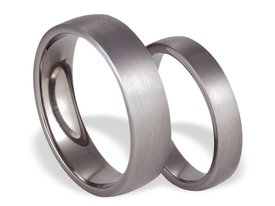 Titanium wedding rings SWT-16/4-m
