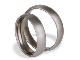 Titanium wedding rings SWT-17/5-m