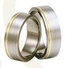 Titanium wedding rings with yellow gold SWTG-72/7