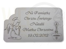Badge for Baptism model -A2 small